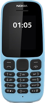 "Nokia 105 DS New - 1.8"" - Memory: 4MB - Battery: N/A - Band: 2G"