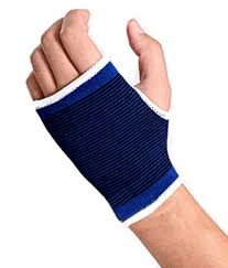 Palm Support Elastic Wrist Brace Bandage - Blue