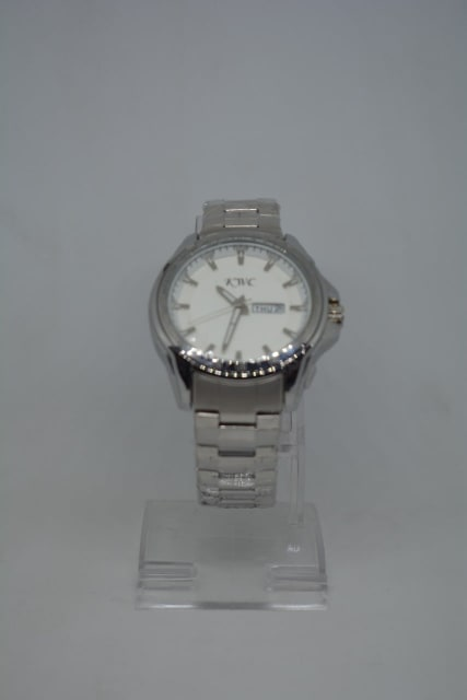 Silver Stainless Steel KWC Watch For Men